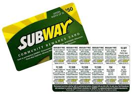 Subway Rewards
