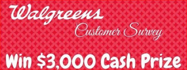 Walgreens Survey Rewards