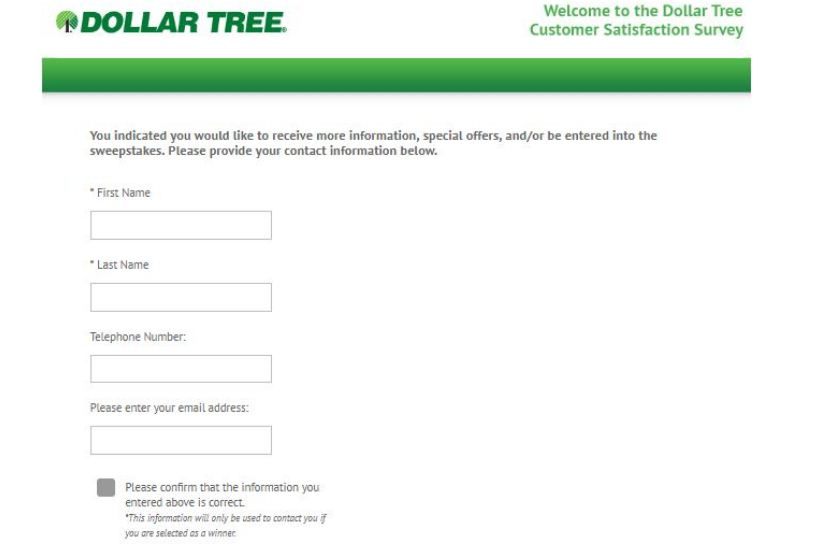 Dollar Tree Guest Expectation Survey