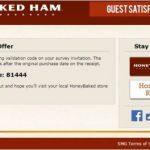 Honey Baked Ham Customer Experience Survey