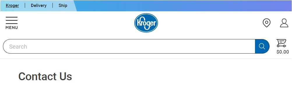 Krogers Customer Care