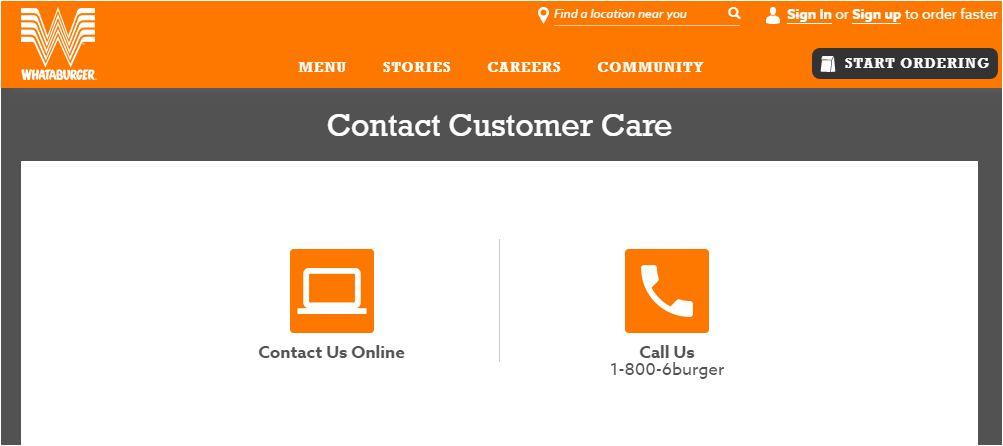 Whataburger Customer Care