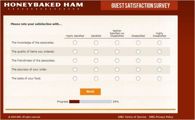 HoneyBaked Consumer Survey