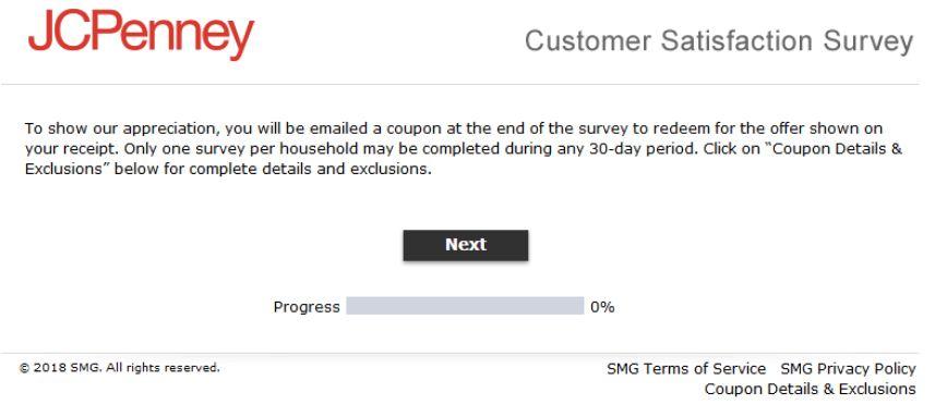 JCPenny Customer Needs Survey