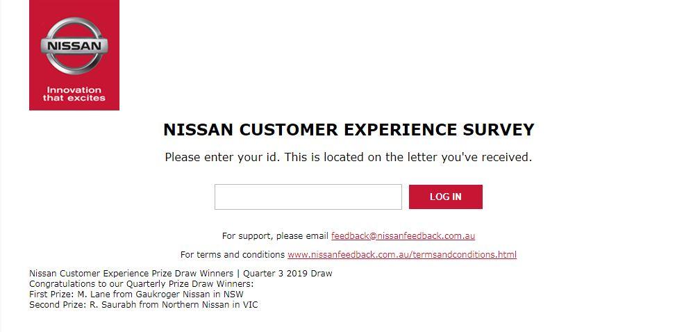 nissan survey