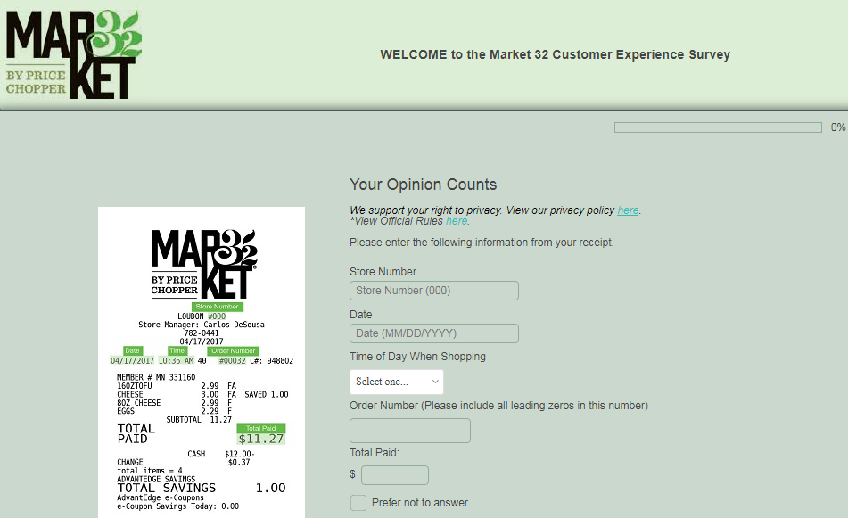 market 32 survey step1
