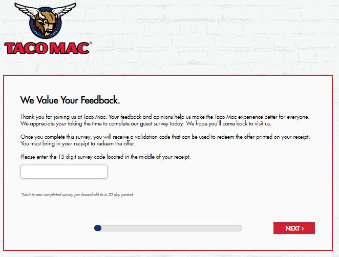 Taco Mac Listens Survey