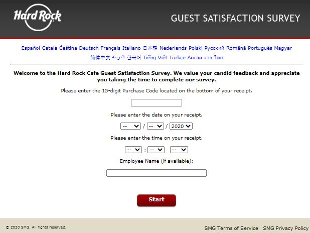 hard rock survey