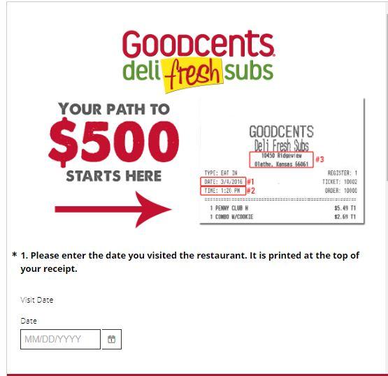Goodcents Survey