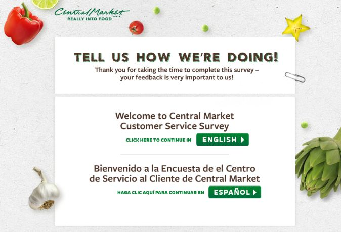 Central Market Survey