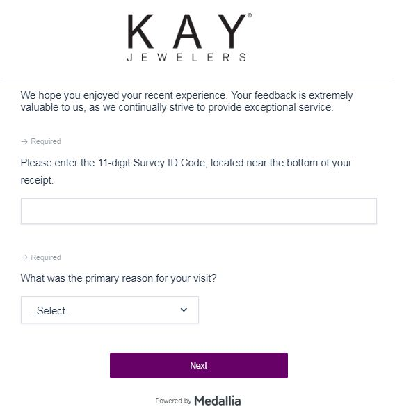 Kay Jewelars Survey