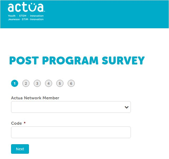 Actua Survey
