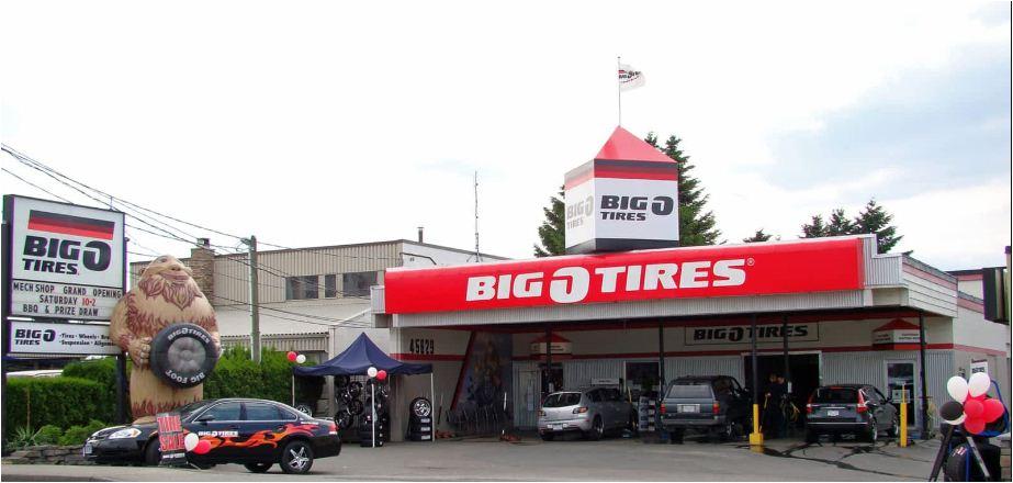 Big O Tires Receipt Survey