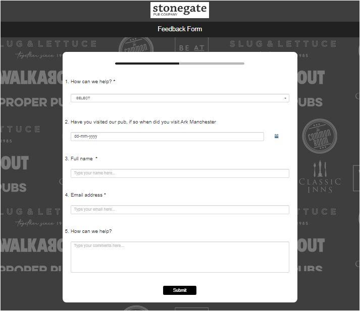 Walkabout Guest Survey